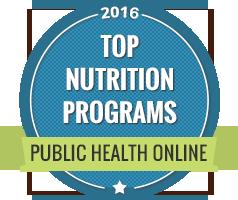 best of 2016 top nutrition degree programs