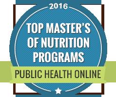 Master's Degree in Nutrition | PublicHealth org